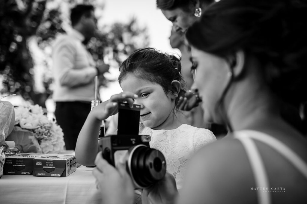 Beach Wedding Ceremony Photographer in Sardinia